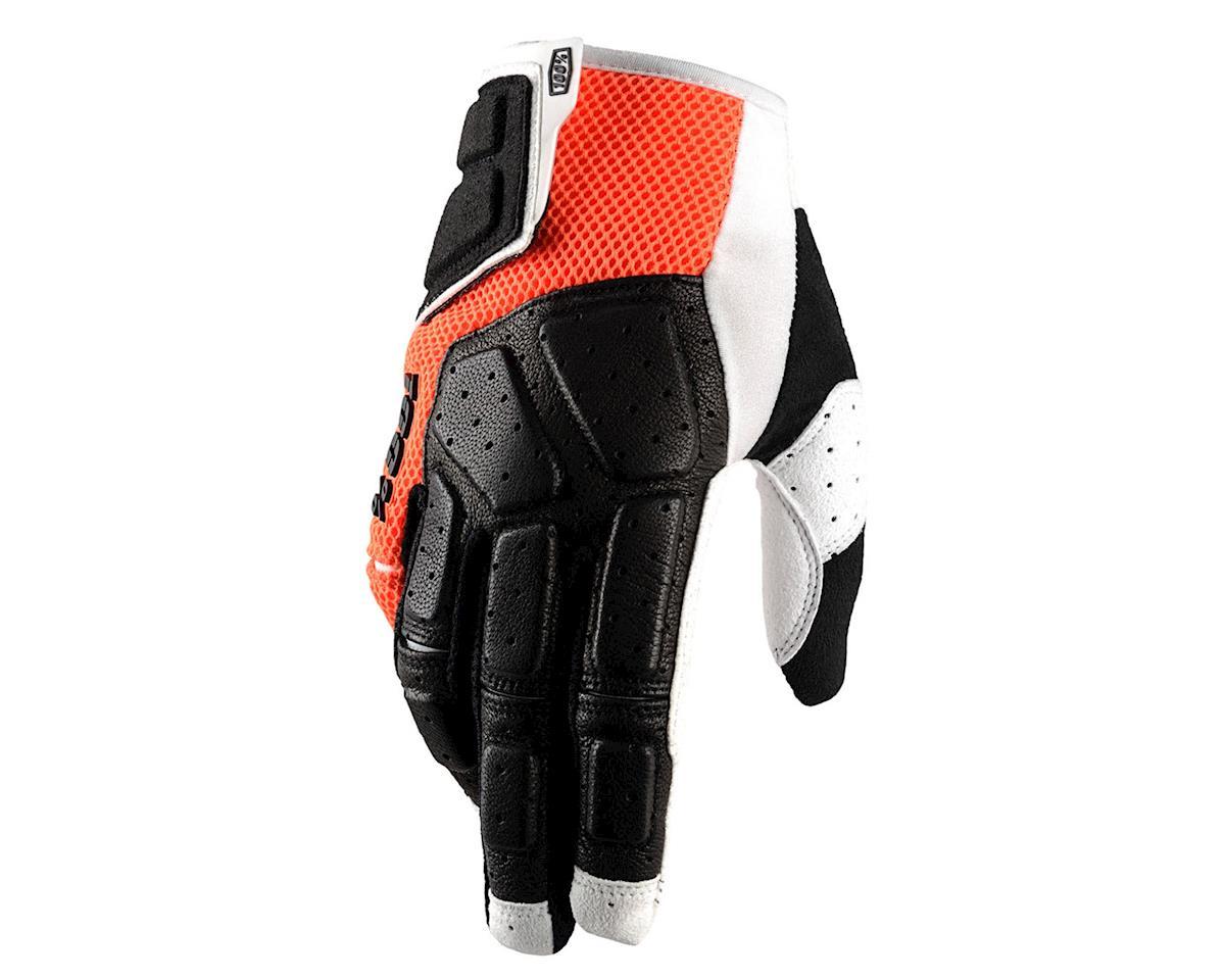 100% SIMI MTB Glove (Orange) (L)