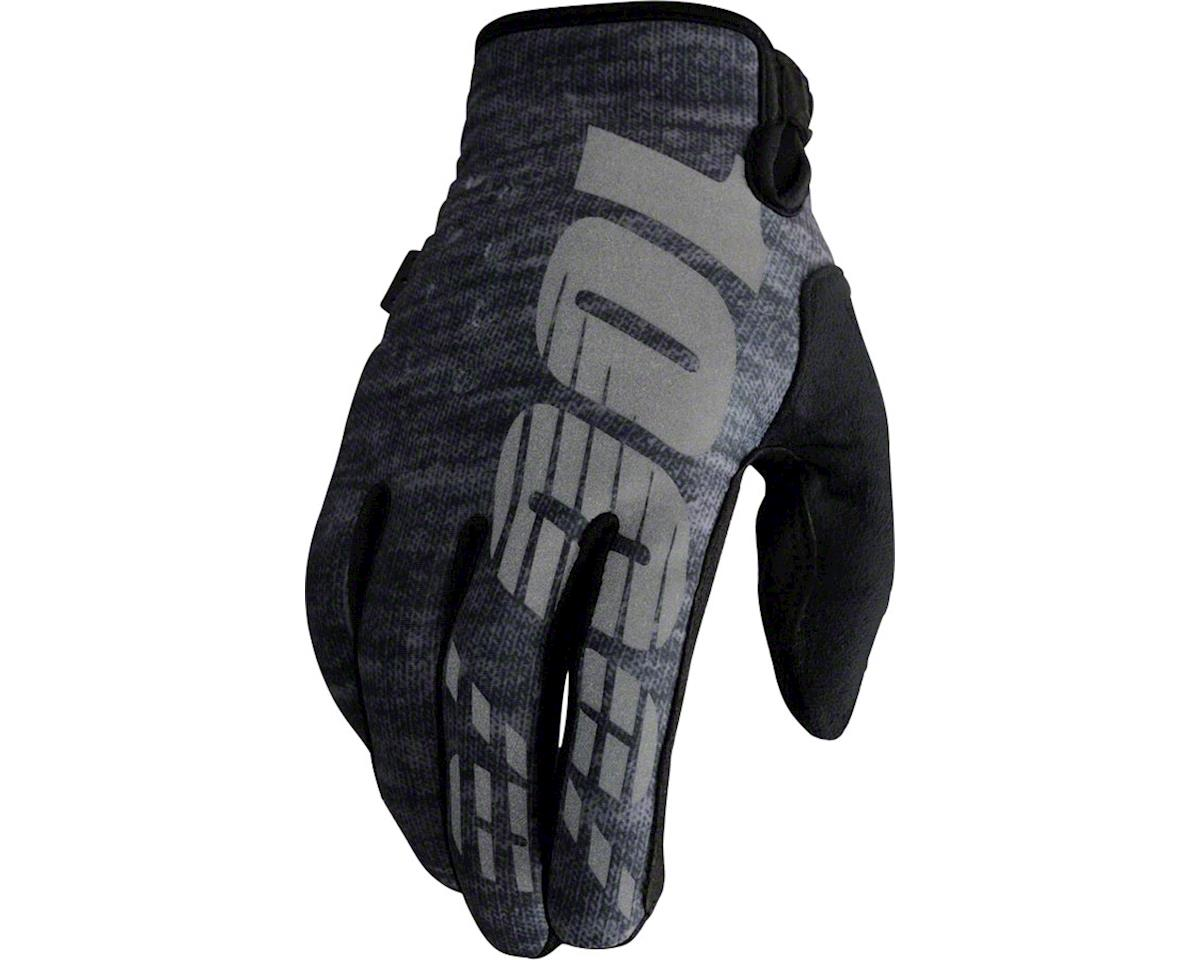 100% Brisker Glove (Heather Gray)