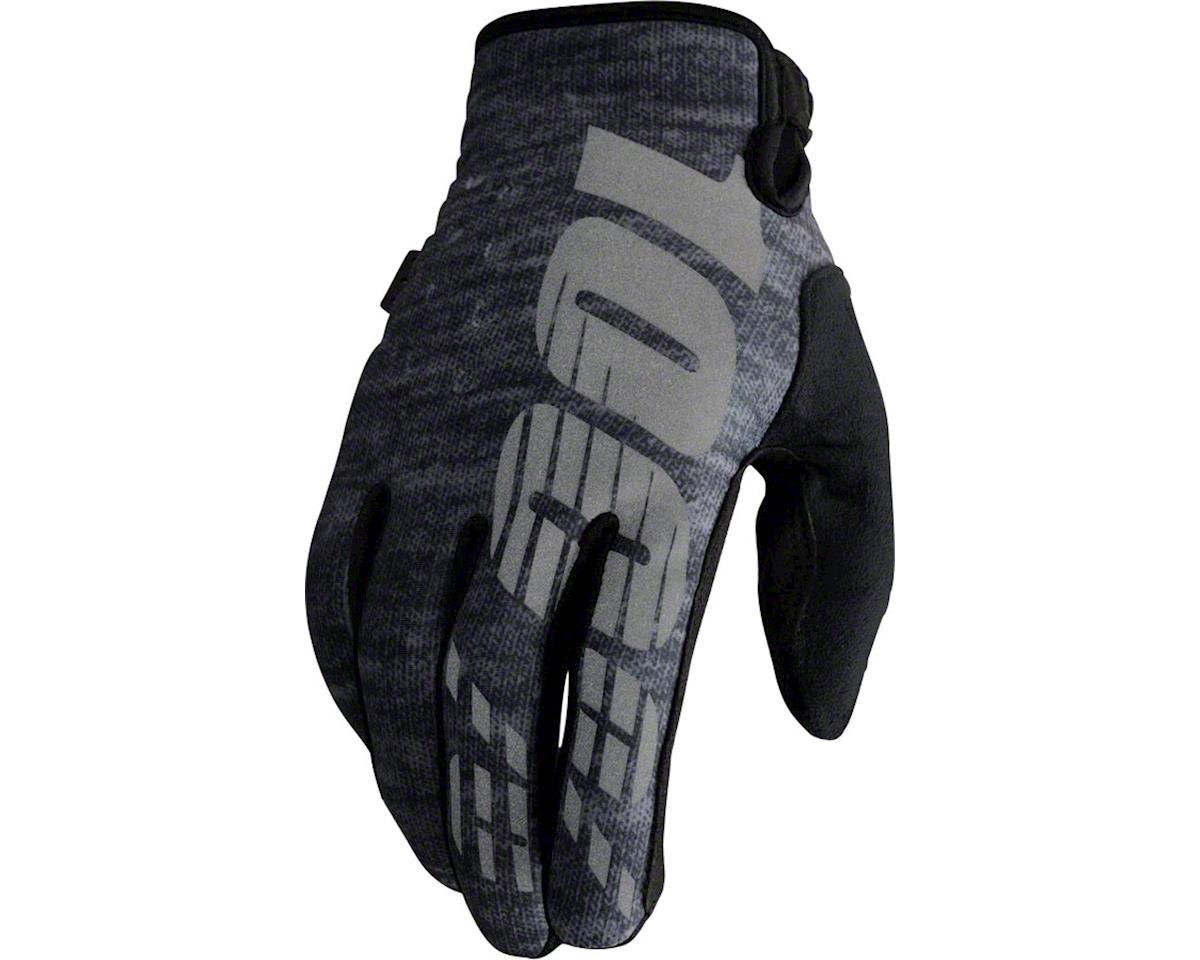 100% Brisker Glove (Heather Gray)