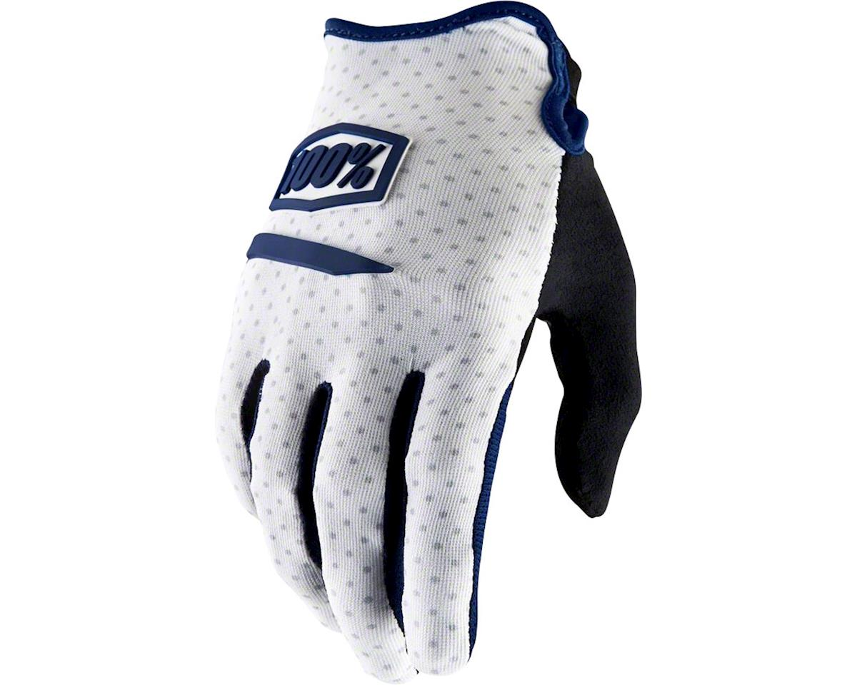 100% Ridecamp Men's Full Finger Glove (White) (2XL)