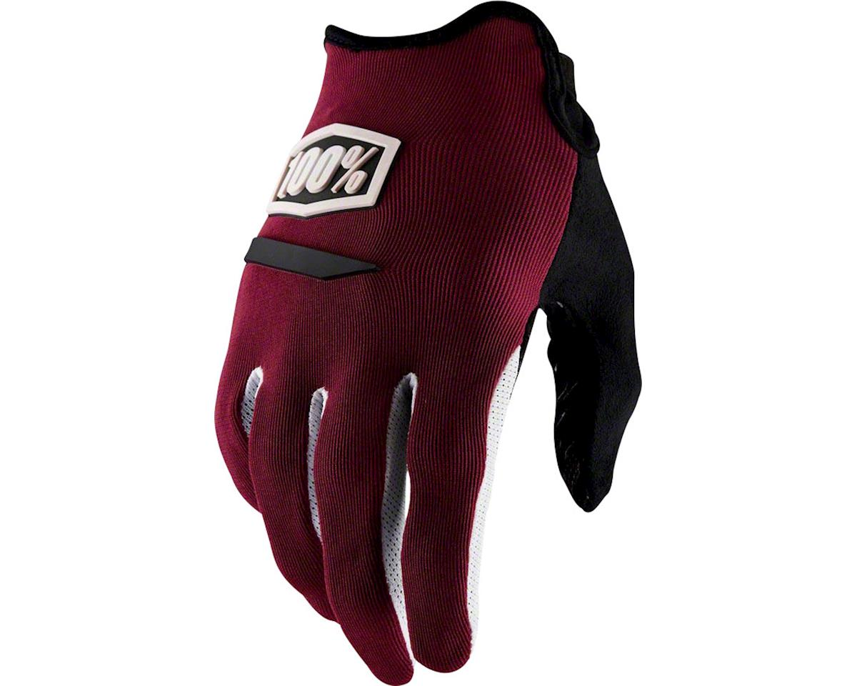 100% Ridecamp Men's Full Finger Glove (Brick)