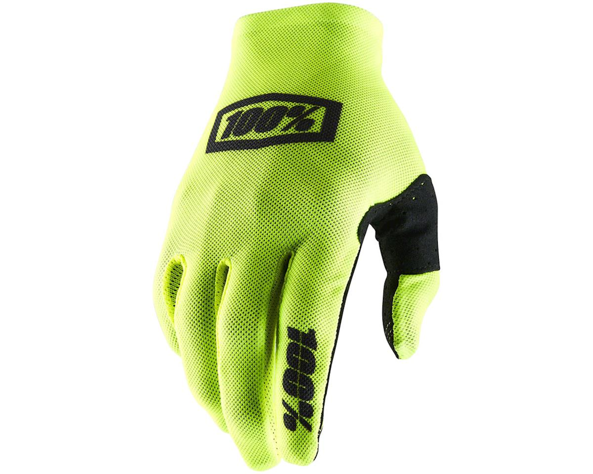 100% Celium II Full Finger Glove (Yellow/Black) (M)