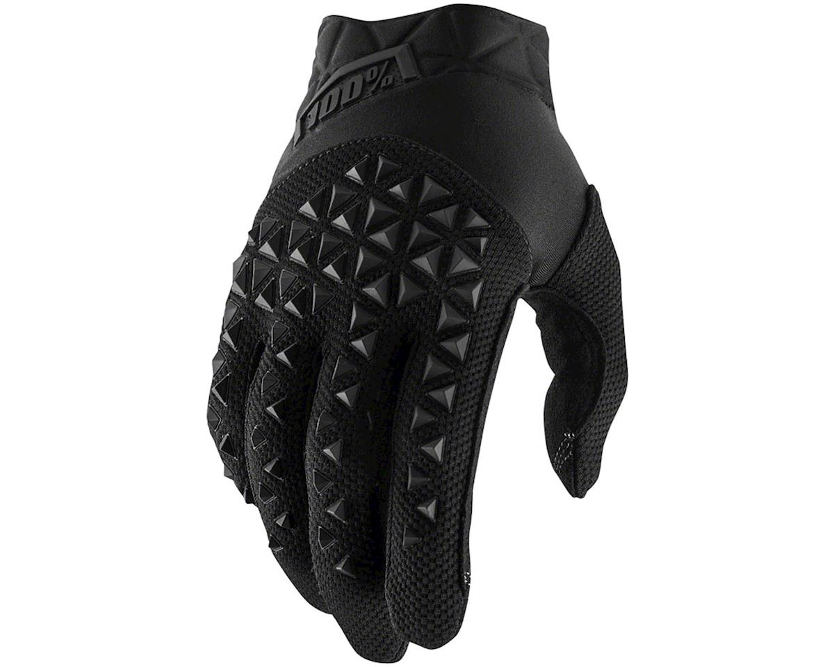 100% Airmatic Full Finger Glove (Black) (M)