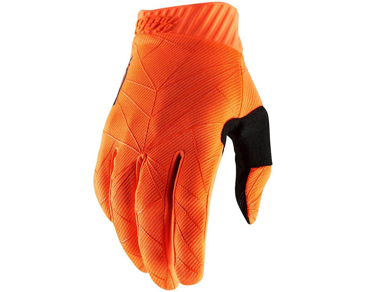100% Ridefit Full Finger Glove (Black) (M)