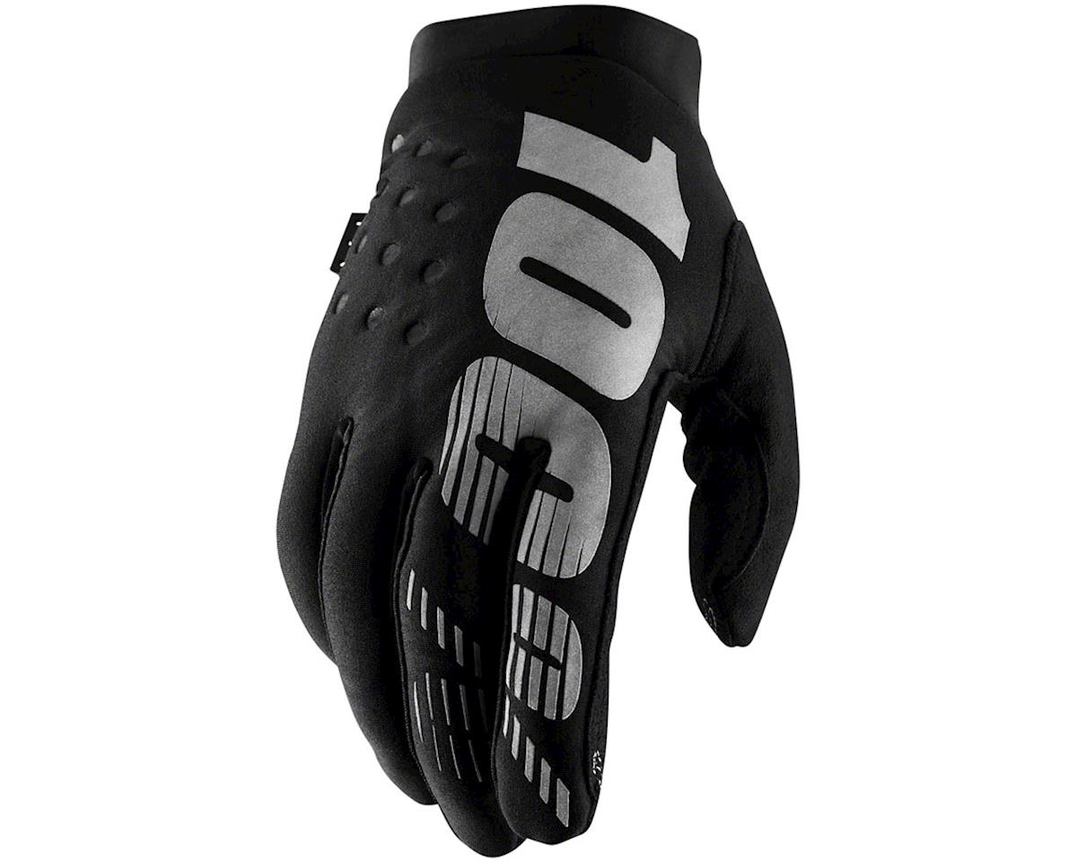 100% Brisker Glove (High Vis Yellow) (XL)
