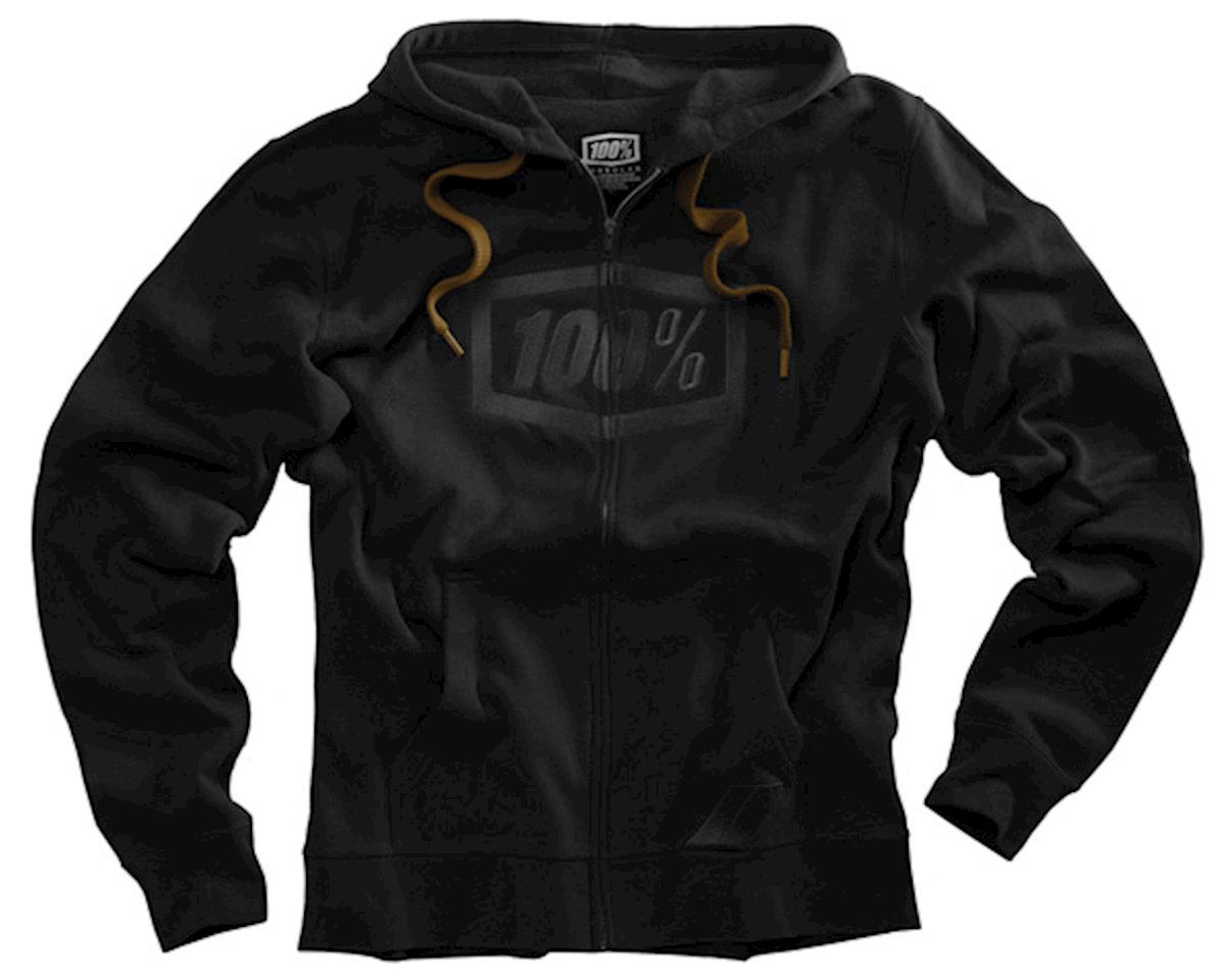 100% Syndicate zip hoody, black  NLA
