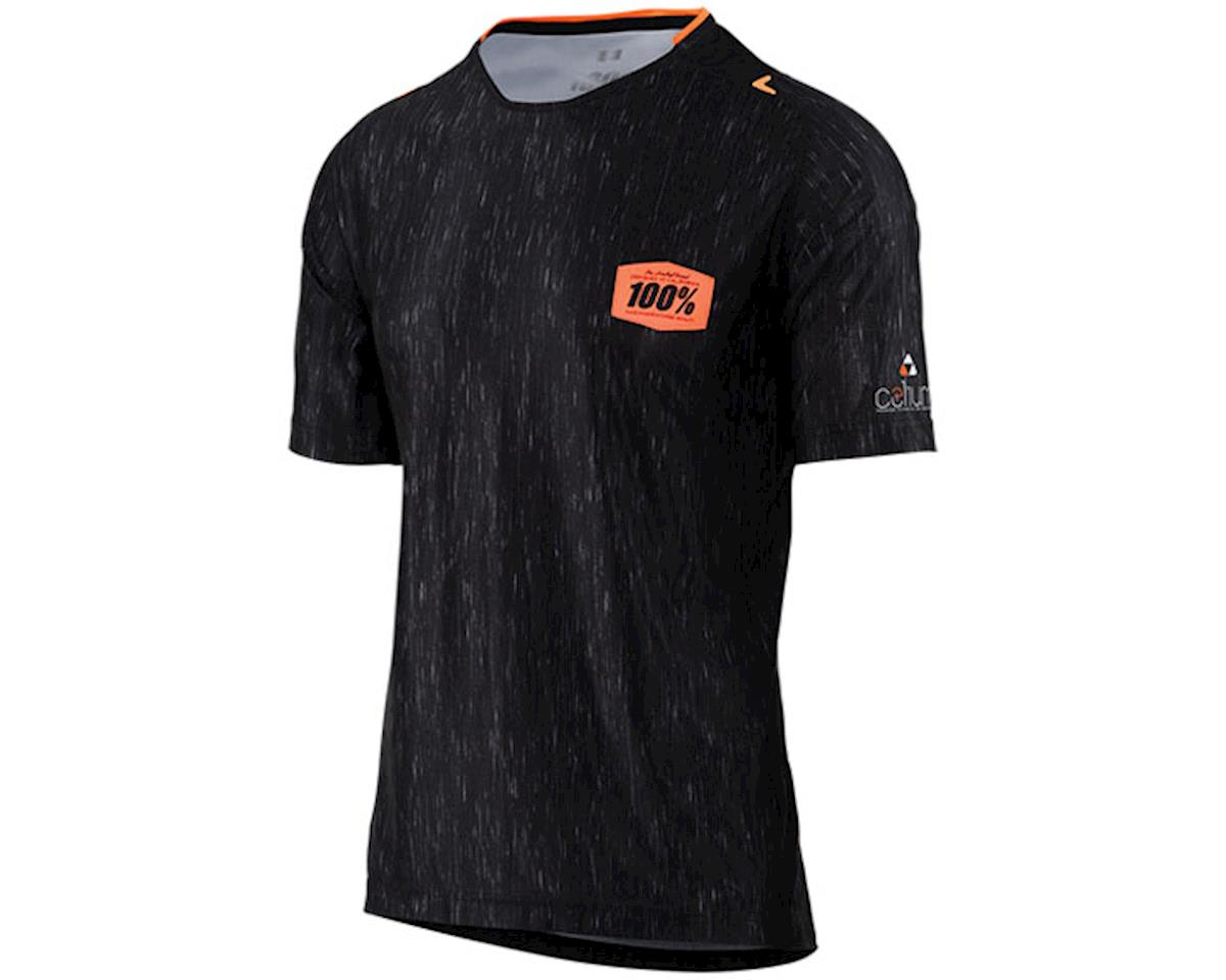 100% Celium Men's MTB Jersey (Black) (S)