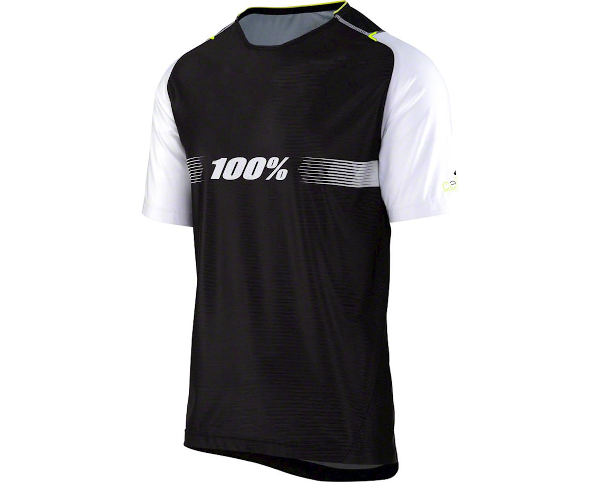 100% Celium AM Men's Jersey: Black