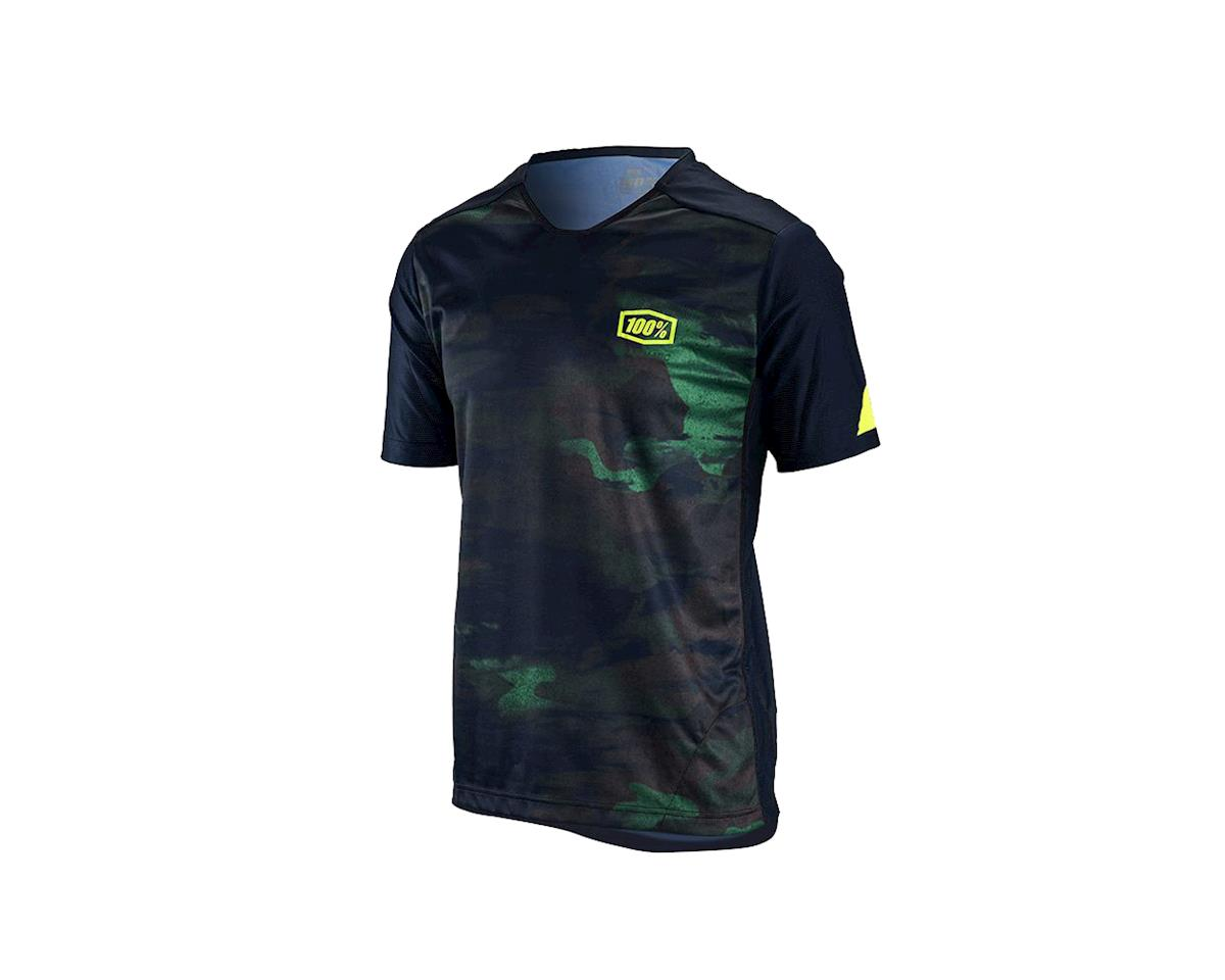 100% Airmatic Men's Short Sleeve MTB Jersey (Camo)