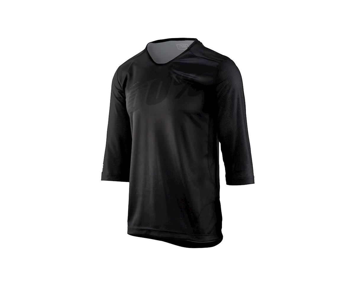 Airmatic Men's 3/4 Sleeve MTB Jersey (Black)