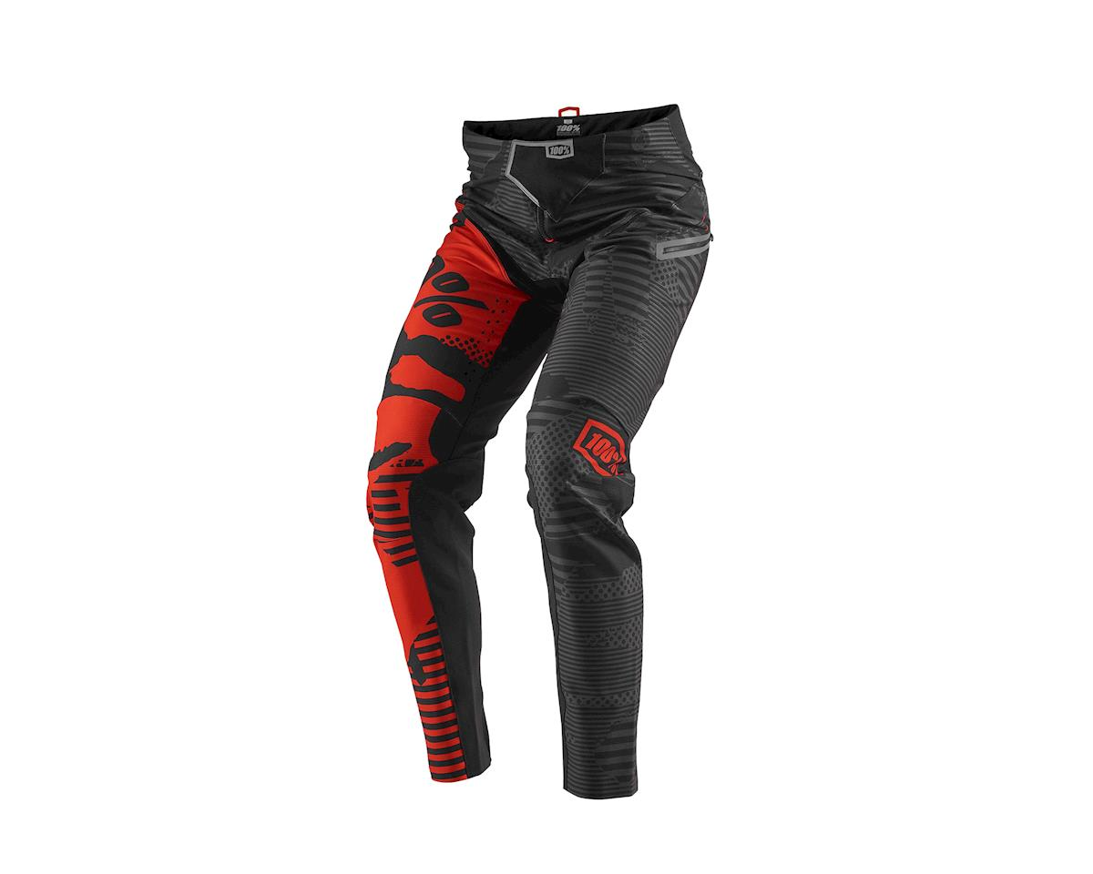 100% R-Core X DH Pants (Black/Red Camo)