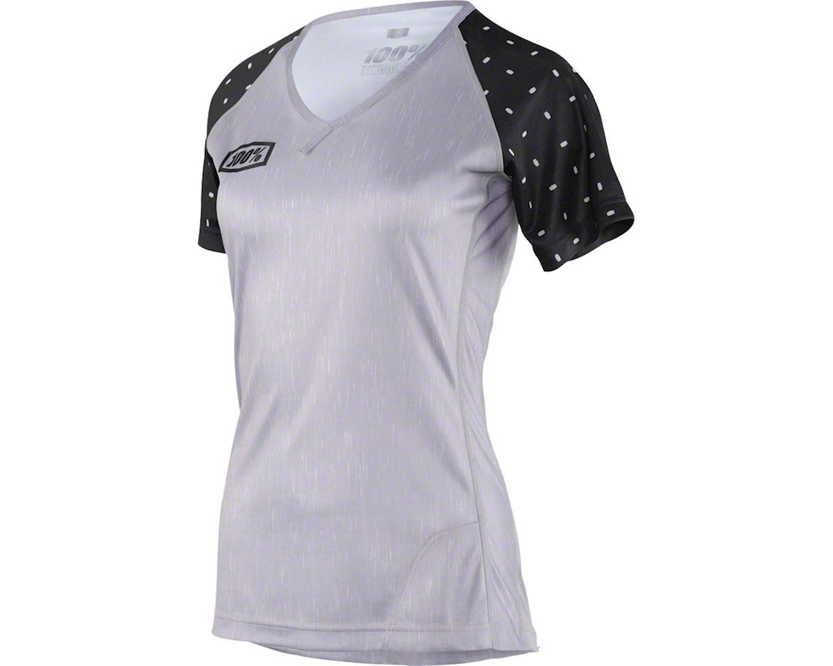 100% Airmatic Women's MTB Jersey (Skylar Grey Heather)