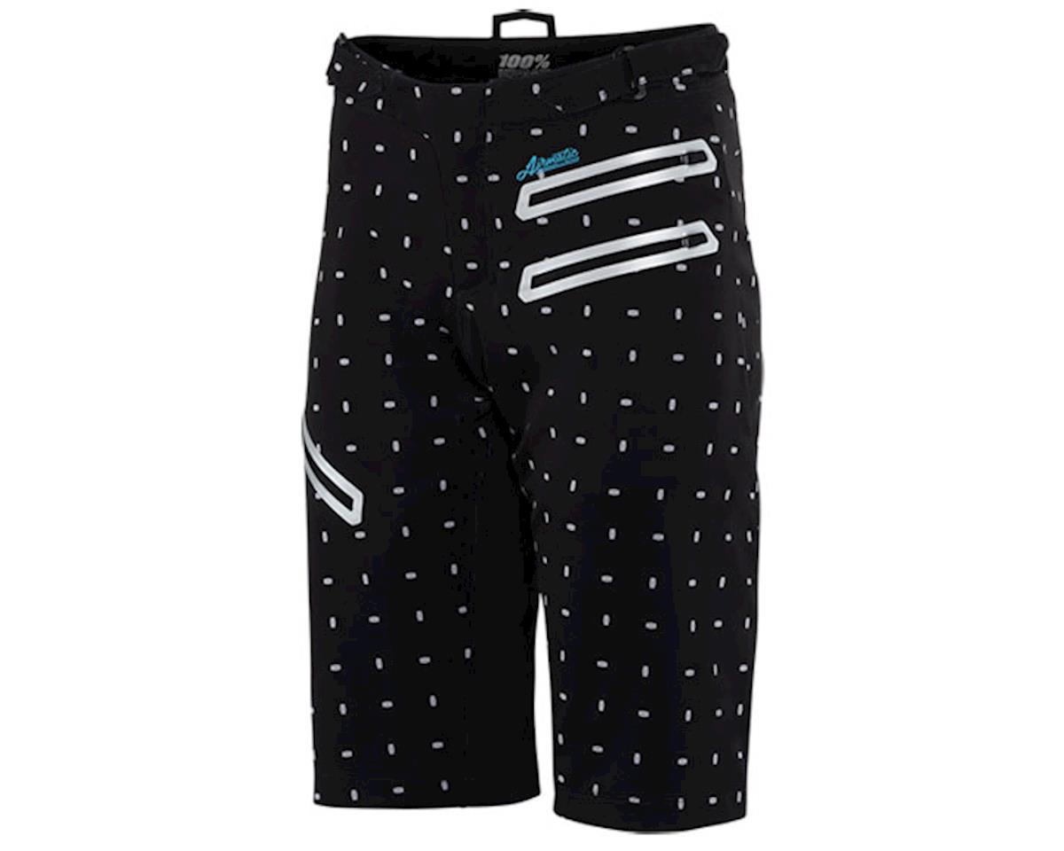 100% Airmatic Women's MTB Short (Black/White)