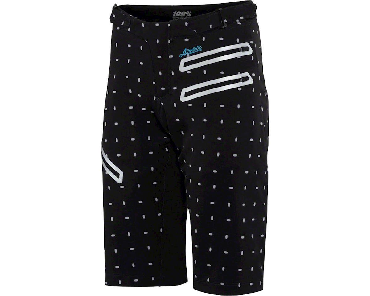 100% Airmatic Women's MTB Short (Black/White) (XL)
