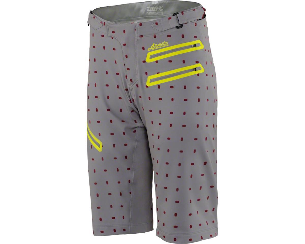 100% Airmatic Women's MTB Short (Grey/White) (M)
