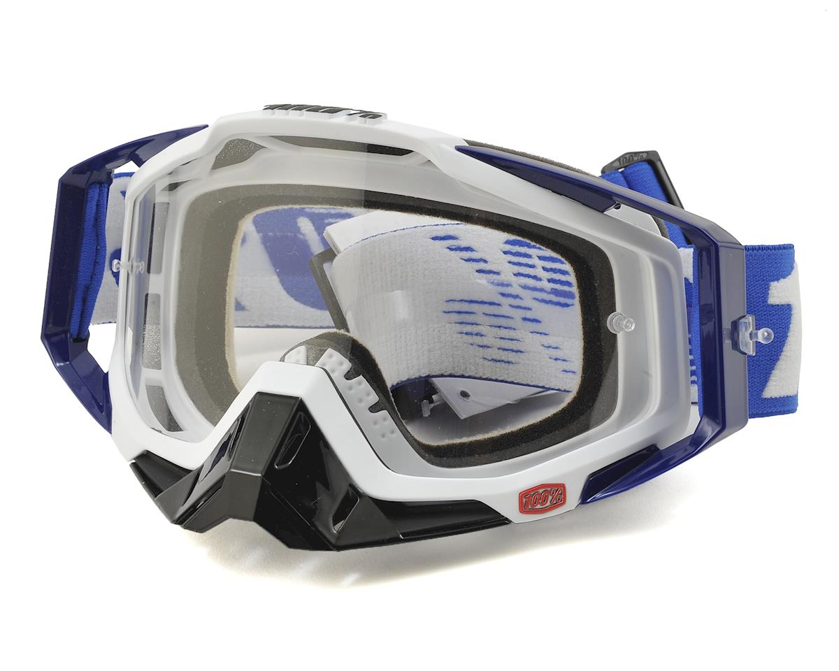Racecraft Goggles (Cobalt Blue) (Clear Lens)