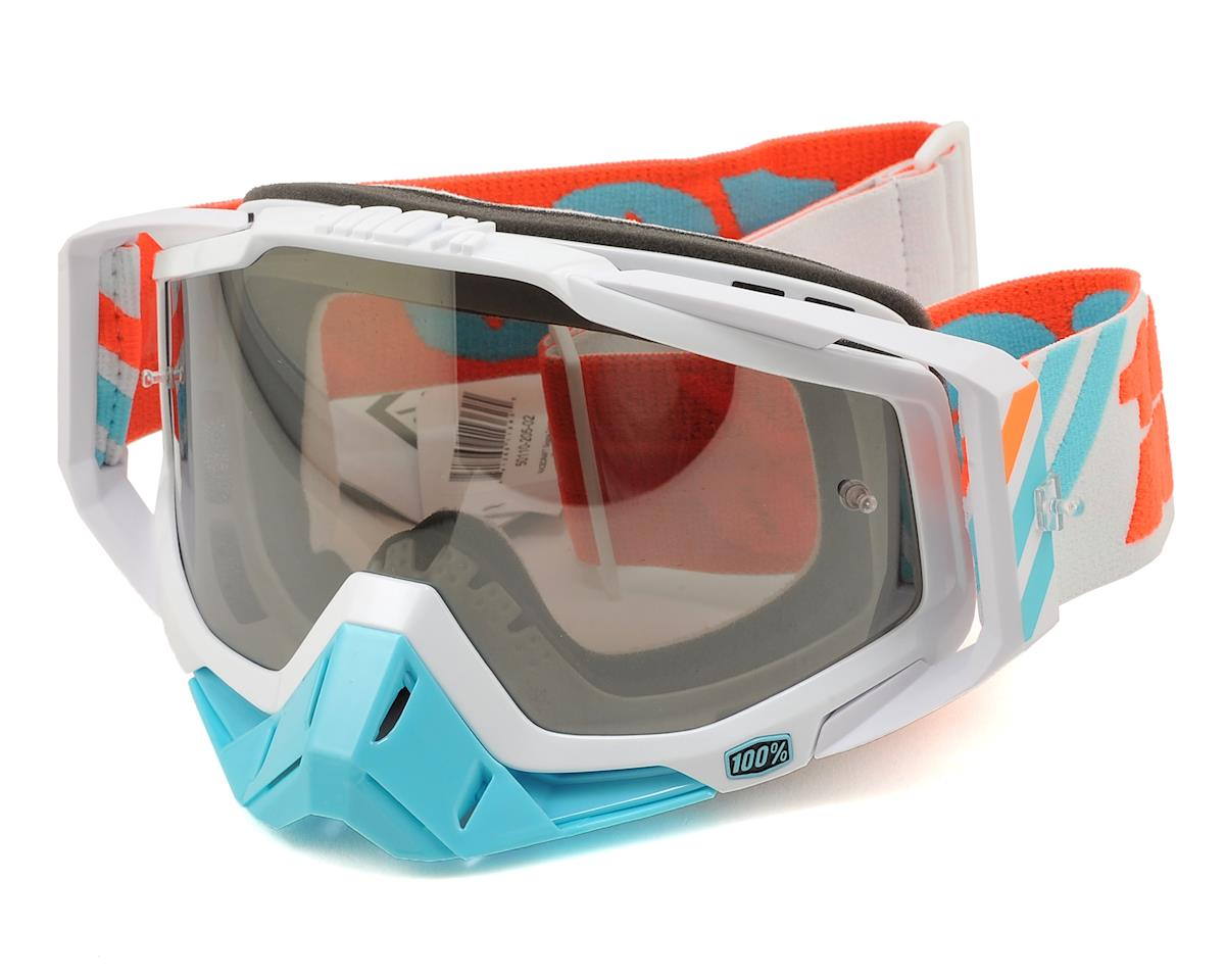 Racecraft Goggles (Calculus Ice) (Mirror Silver Lens)