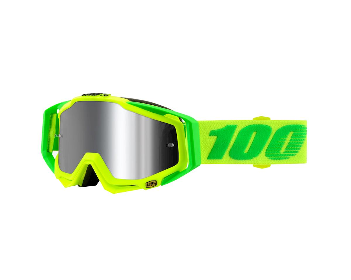 100% RaceCraft PLUS Goggles (Sour Soul) (Silver Mirror)