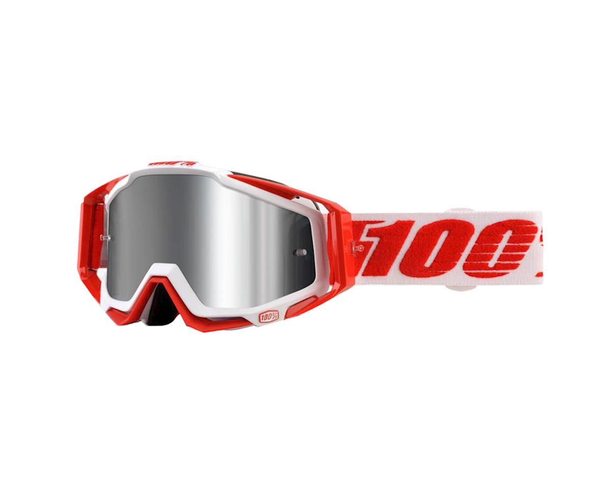 100% RaceCraft PLUS Goggles (Bilal) (Silver Mirror)