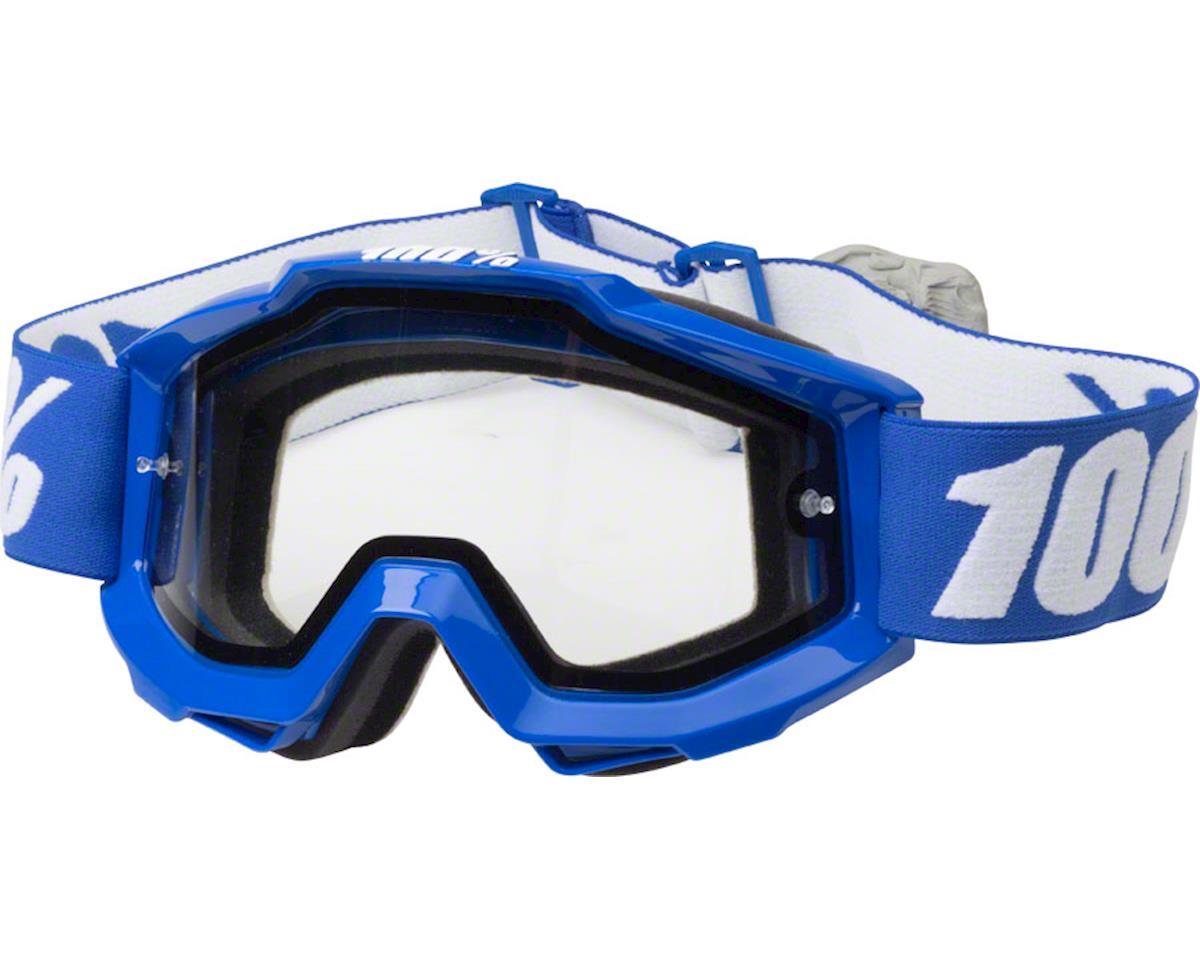 100% Accuri Enduro Goggle (Reflex Blue) (Clear Lens)