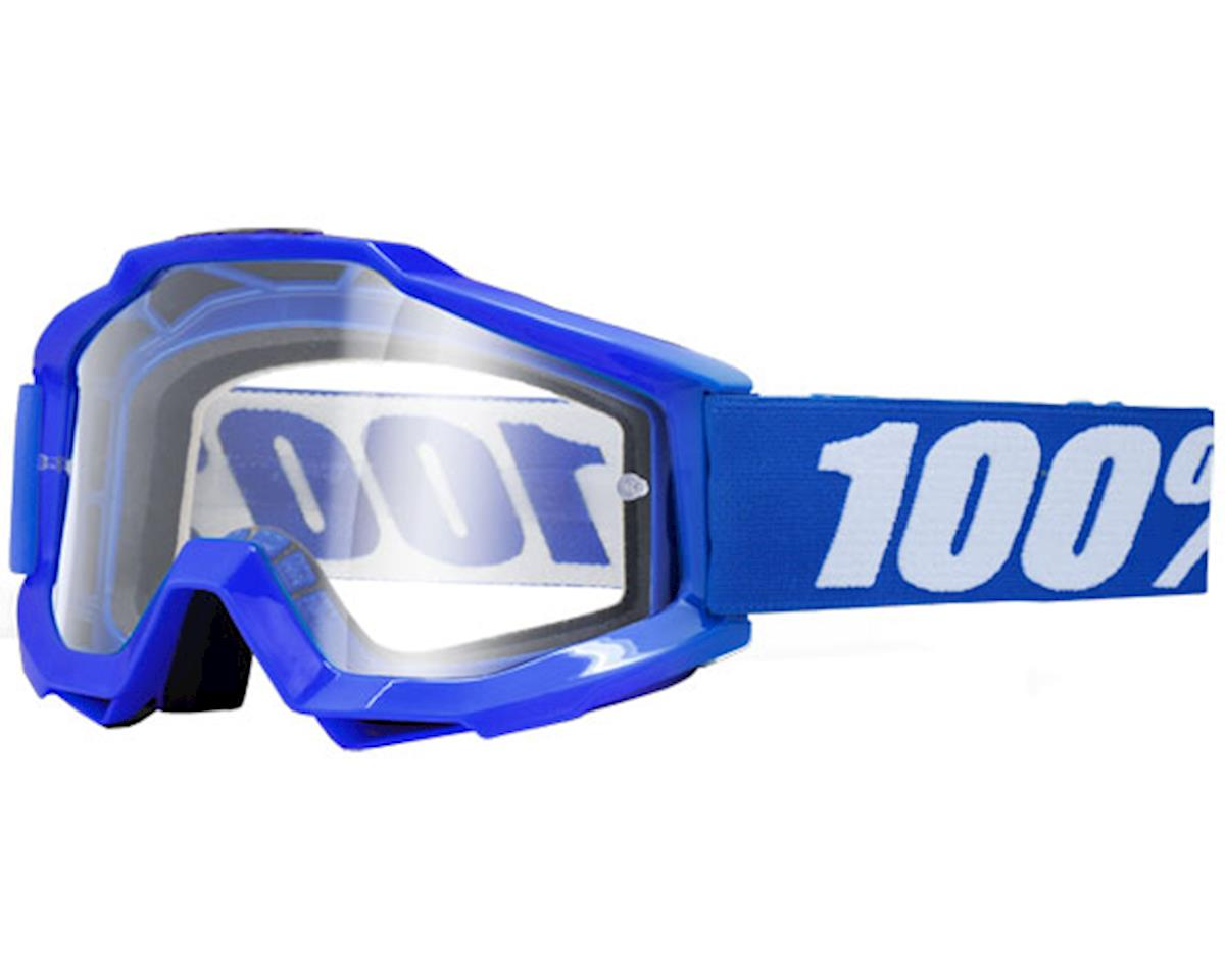 100% Accuri OTG Goggle (Reflex Blue) (Clear Lens) (For Use Over Glasses)