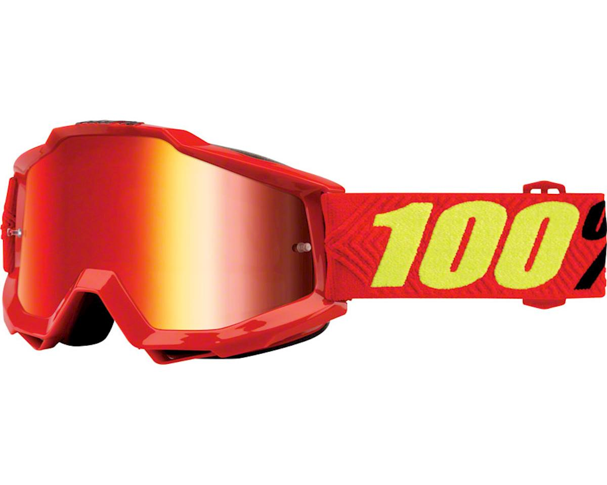 100% Accuri Goggle (Saarinen) (Mirror Red & Clear Lens)