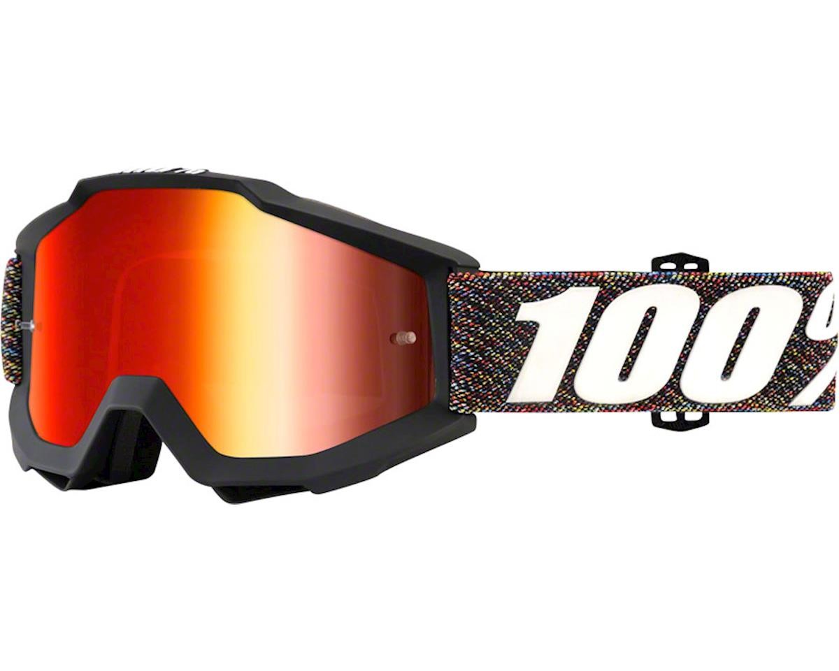 100% Accuri Goggle (Krick) (Mirror Red & Clear Lens)
