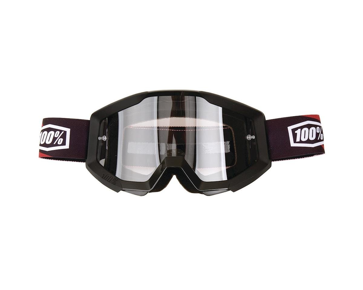 100% Strata Goggle (Slash) (Clear Lens)