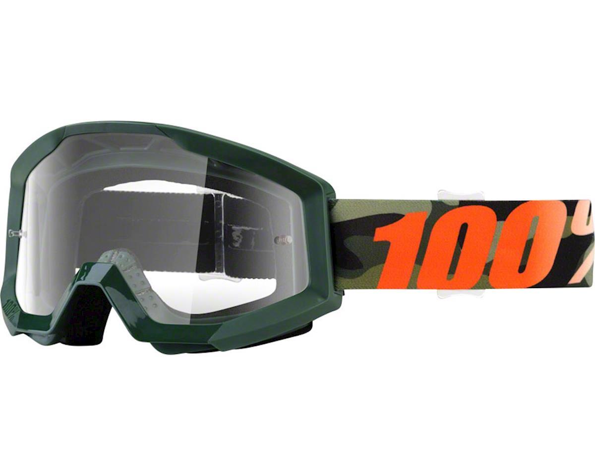100% Strata Goggle (Huntsitan) (Clear Lens)
