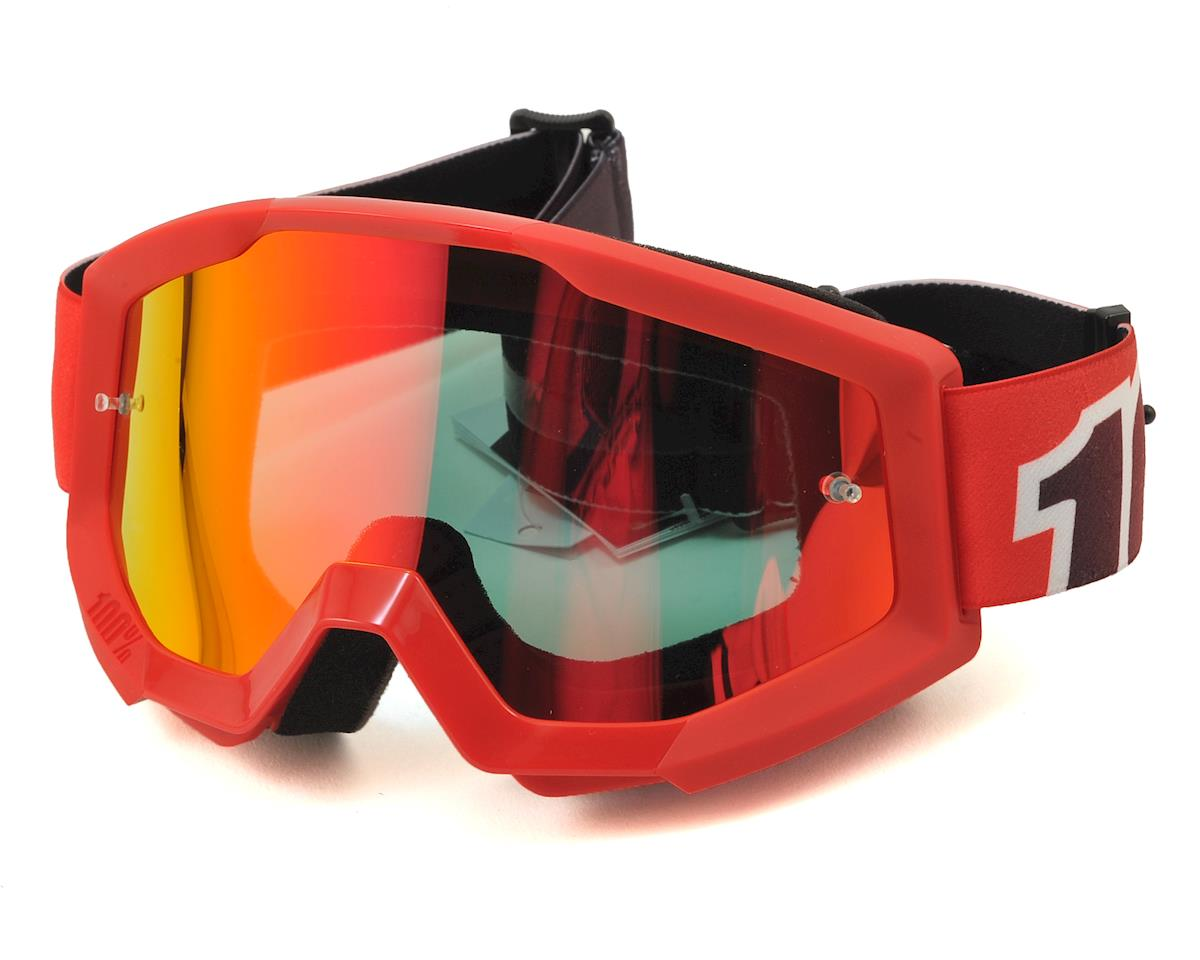 Strata Goggles (Fire Red) (Mirror Red Lens)