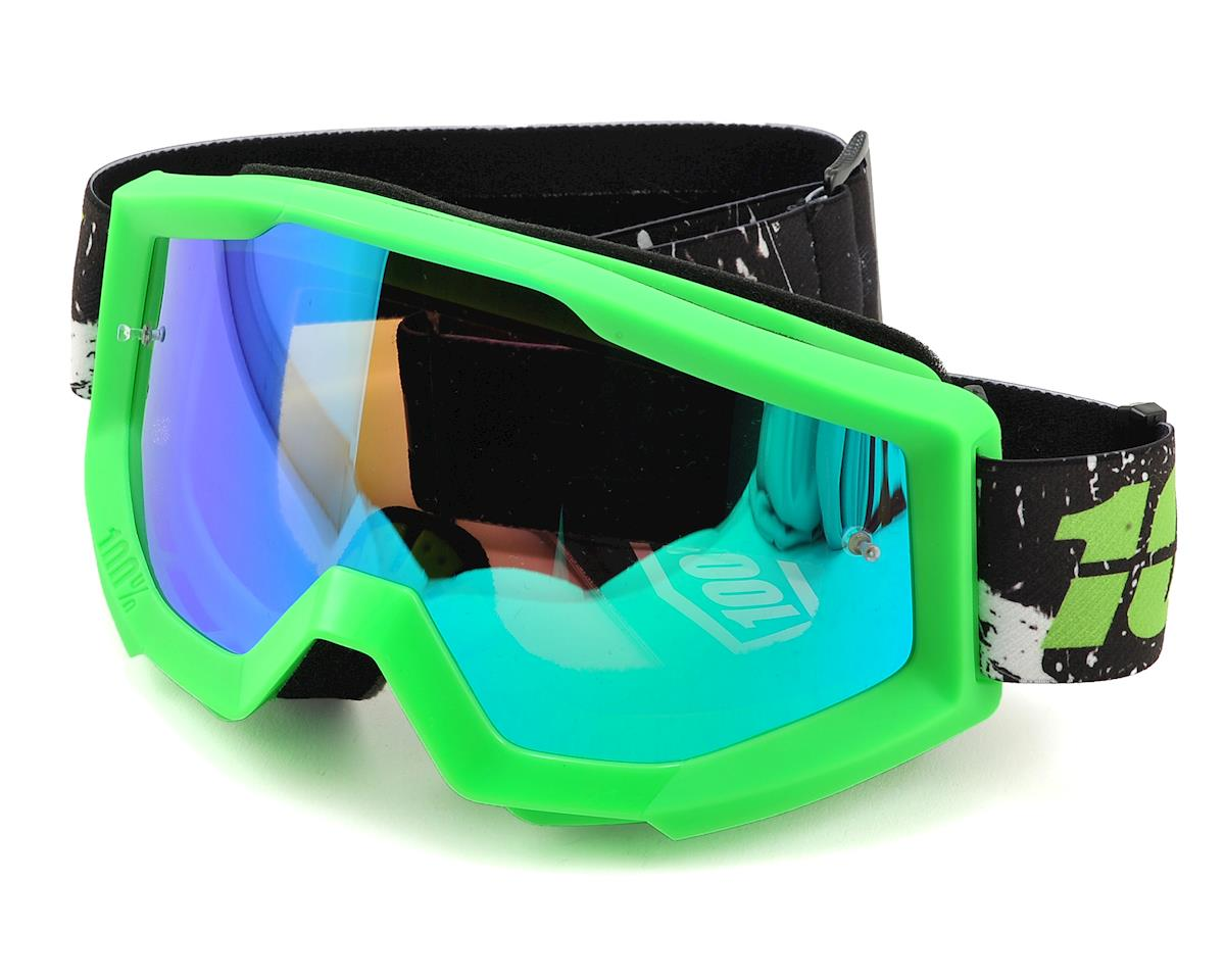 Strata Goggles (Crafty Lime) (Mirror Green Lens)