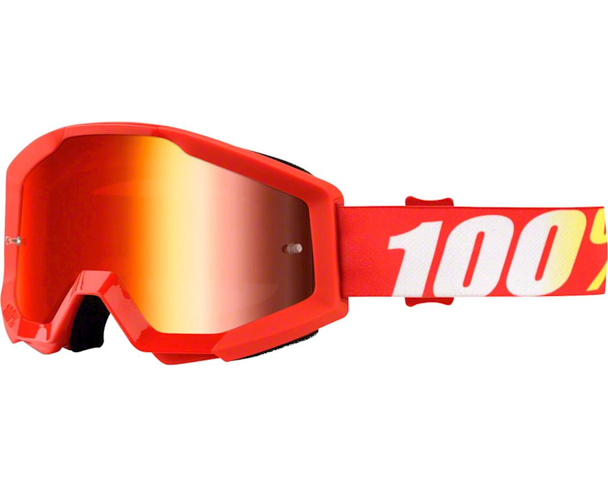 100% Strata Goggle (Furnace) (Mirror Red Lens)