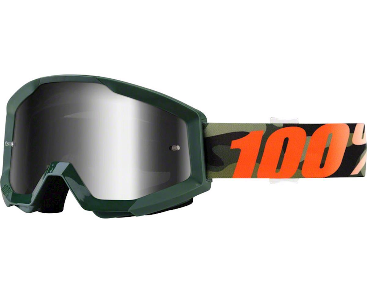100% Strata Goggle (Huntsitan) (Mirror Silver Lens)