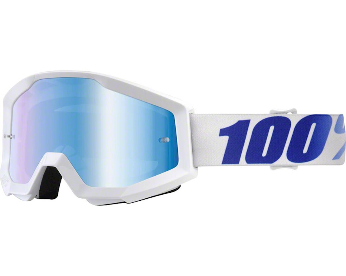 100% Strata Goggle (Equinox) (Mirror Blue Lens)