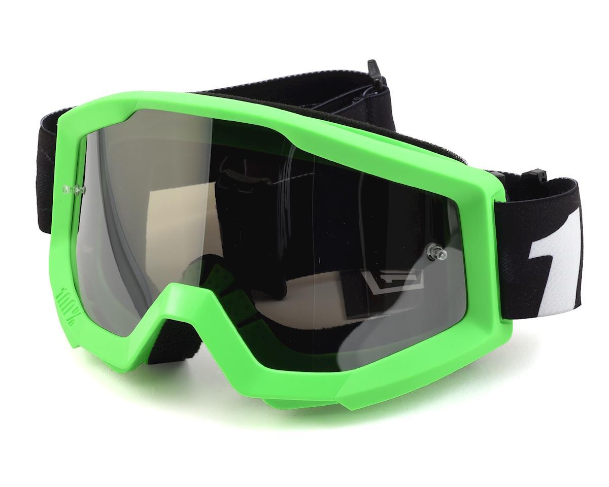 100% Strata Goggles (Arkon) (Mirror Silver Lens)