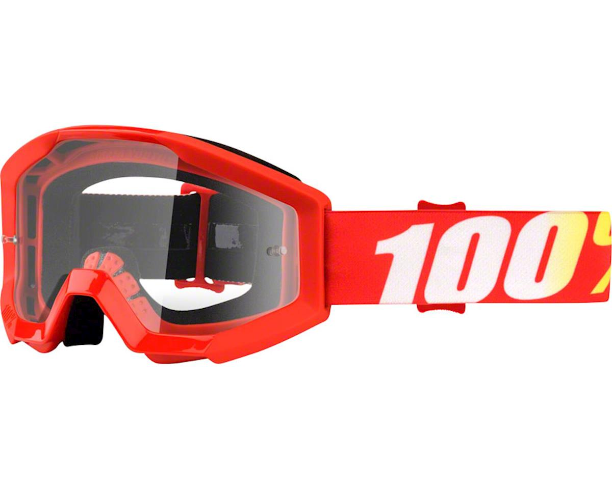 100% Strata Youth Goggle (Furnace) (Clear Lens)