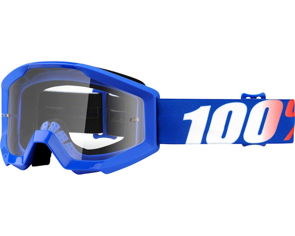 100% Strata Youth Goggle (Nation) (Clear Lens)