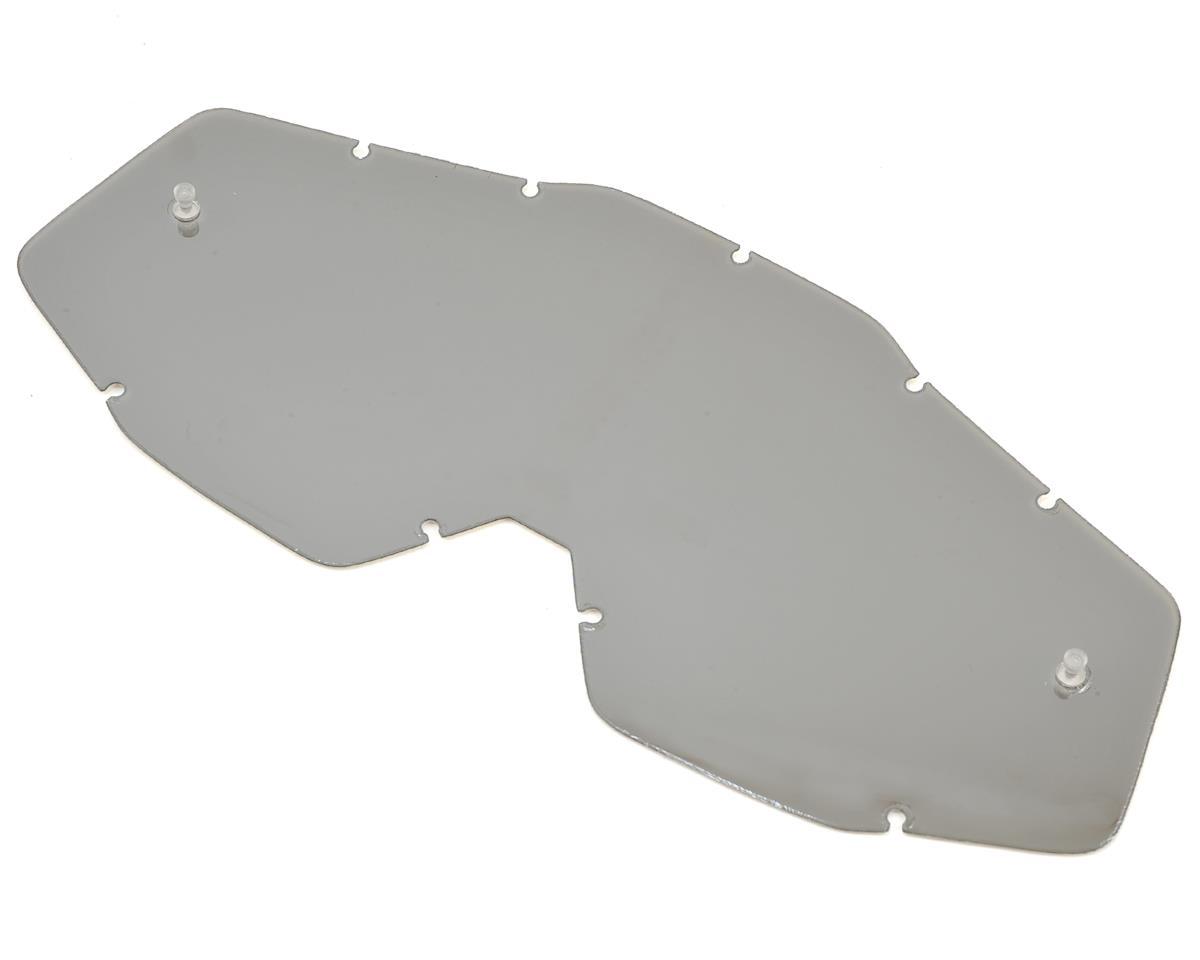 100% Racecraft/Accuri/Strata Replacement Lens (Silver Mirror Anti-Fog)