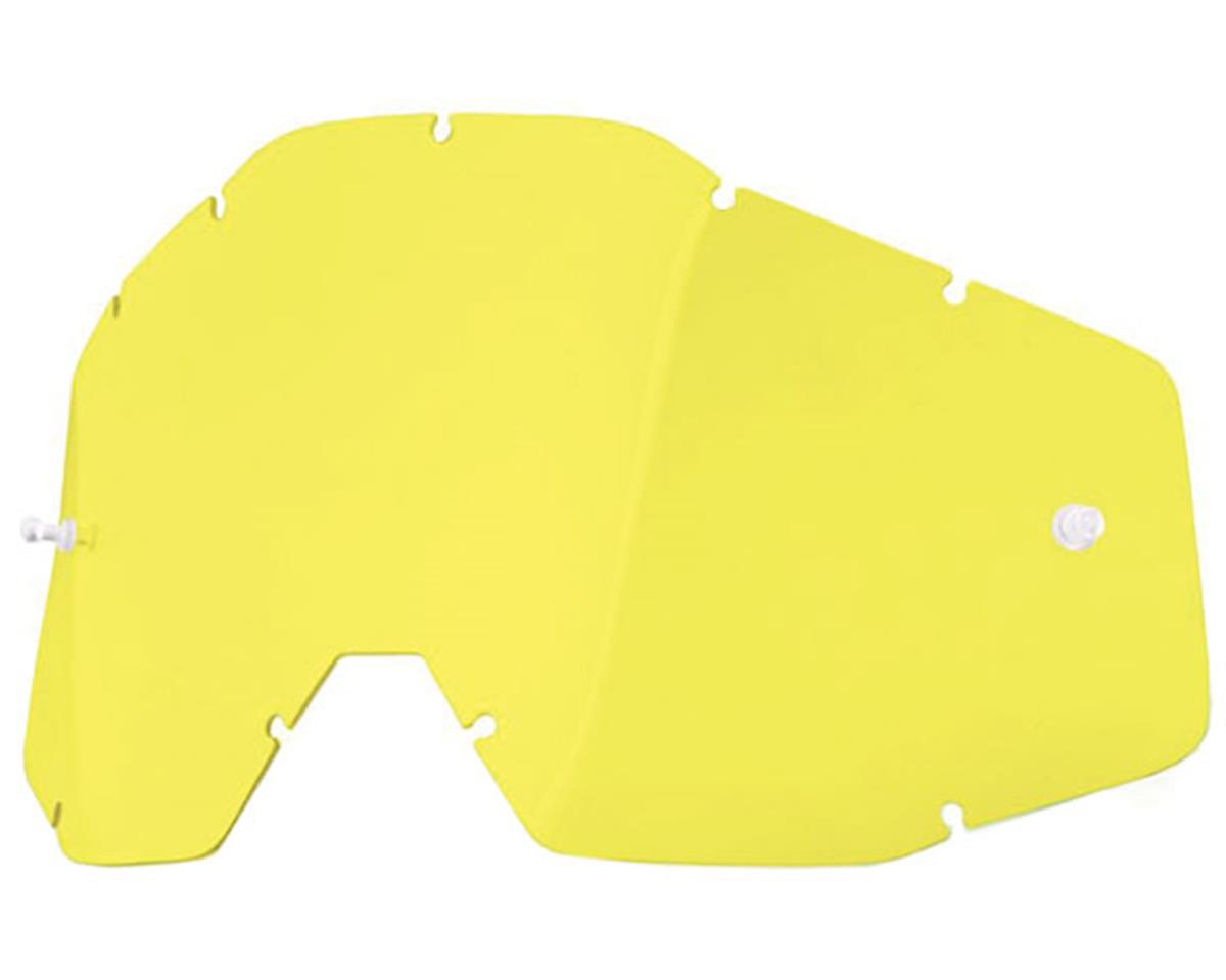 100% Vented Dual Pane  Lens (Anti-Fog/Yellow)