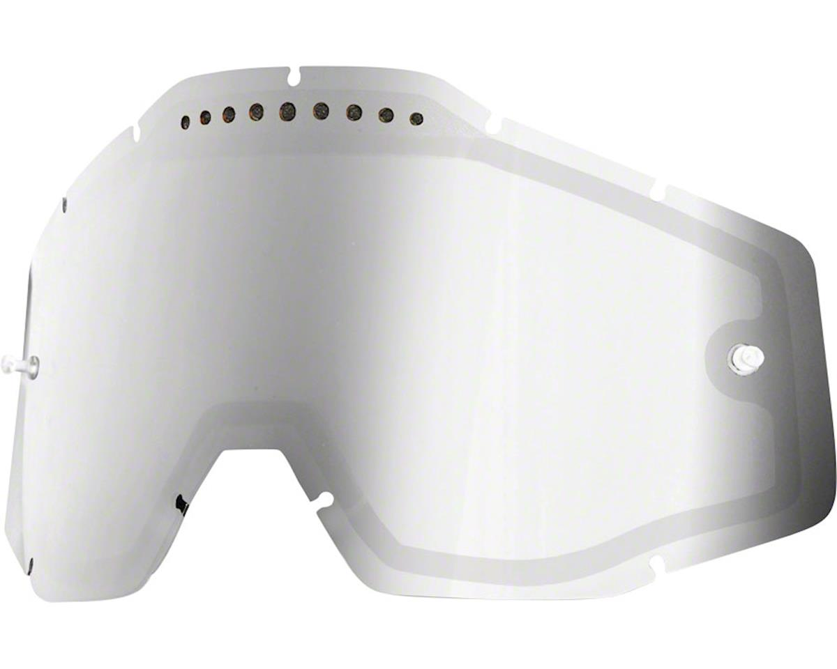 100% Racecraft/Accuri/Strata Replacement Lens (Silver Mirror/Smoke)