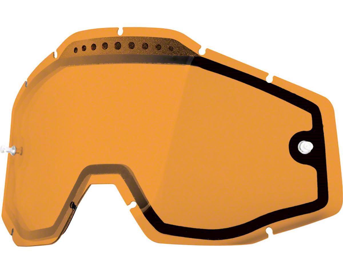 100% Racecraft/Accuri/Strata Replacement Lens (Persimmon Dual Pane Vented)