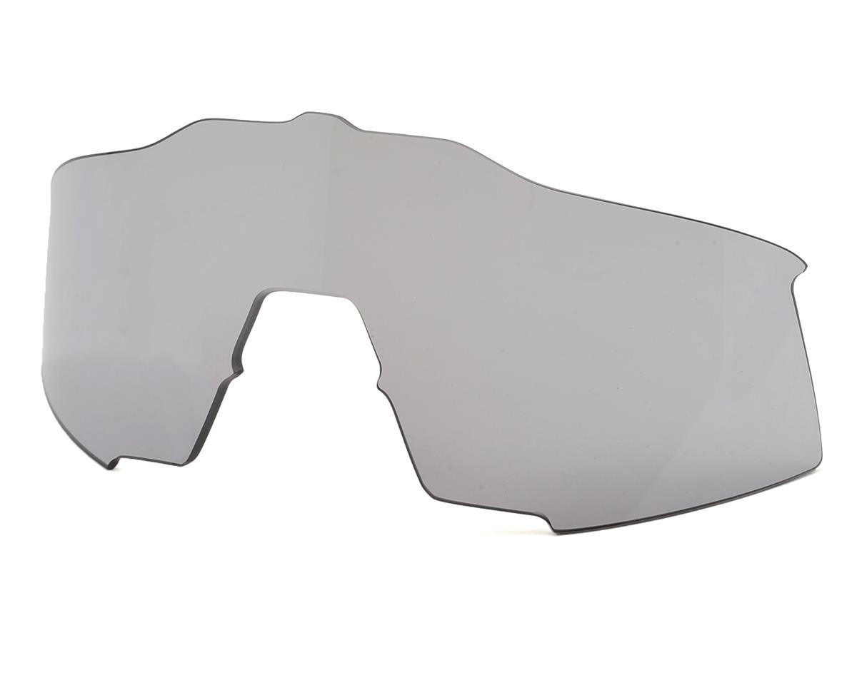 bd09d7a10b 100% Speedcraft Sunglasses (Red Black) (Long Smoke Lens)  61001-003-57