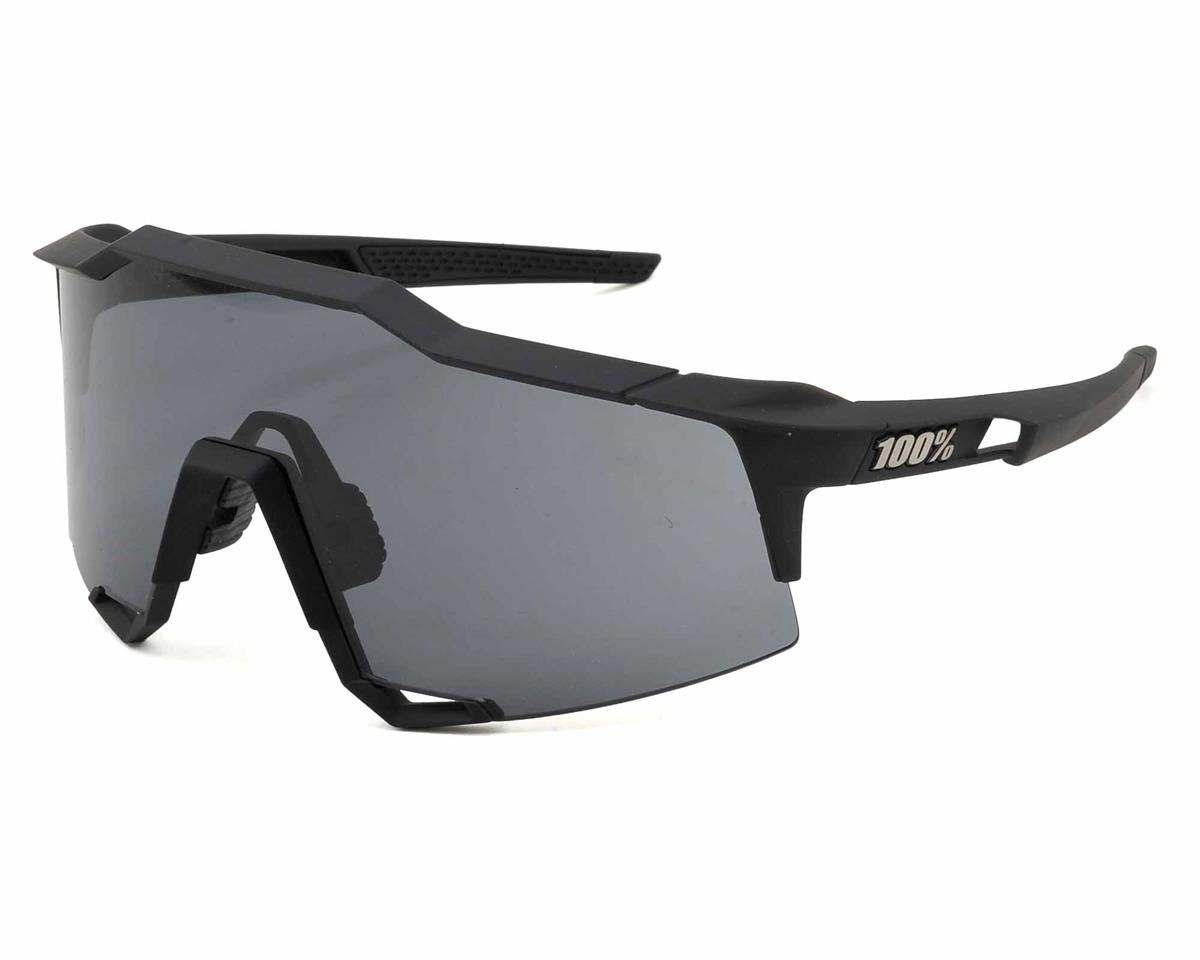 100% SpeedCraft Sunglasses (Gunmetal) (Smoke Lens)
