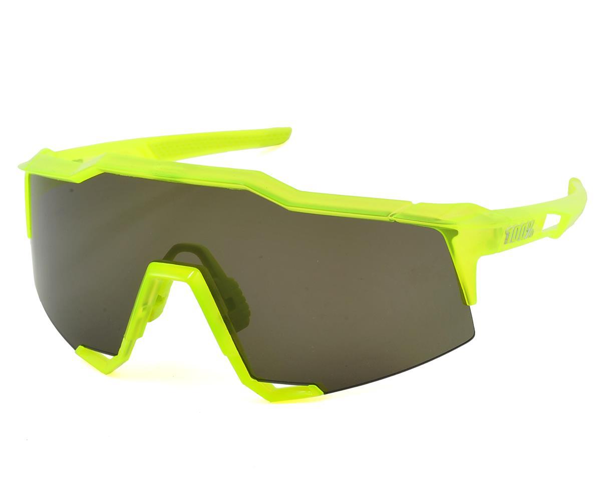 100% Speedcraft Sunglasses (Acidulous) (Long Smoke Lens)