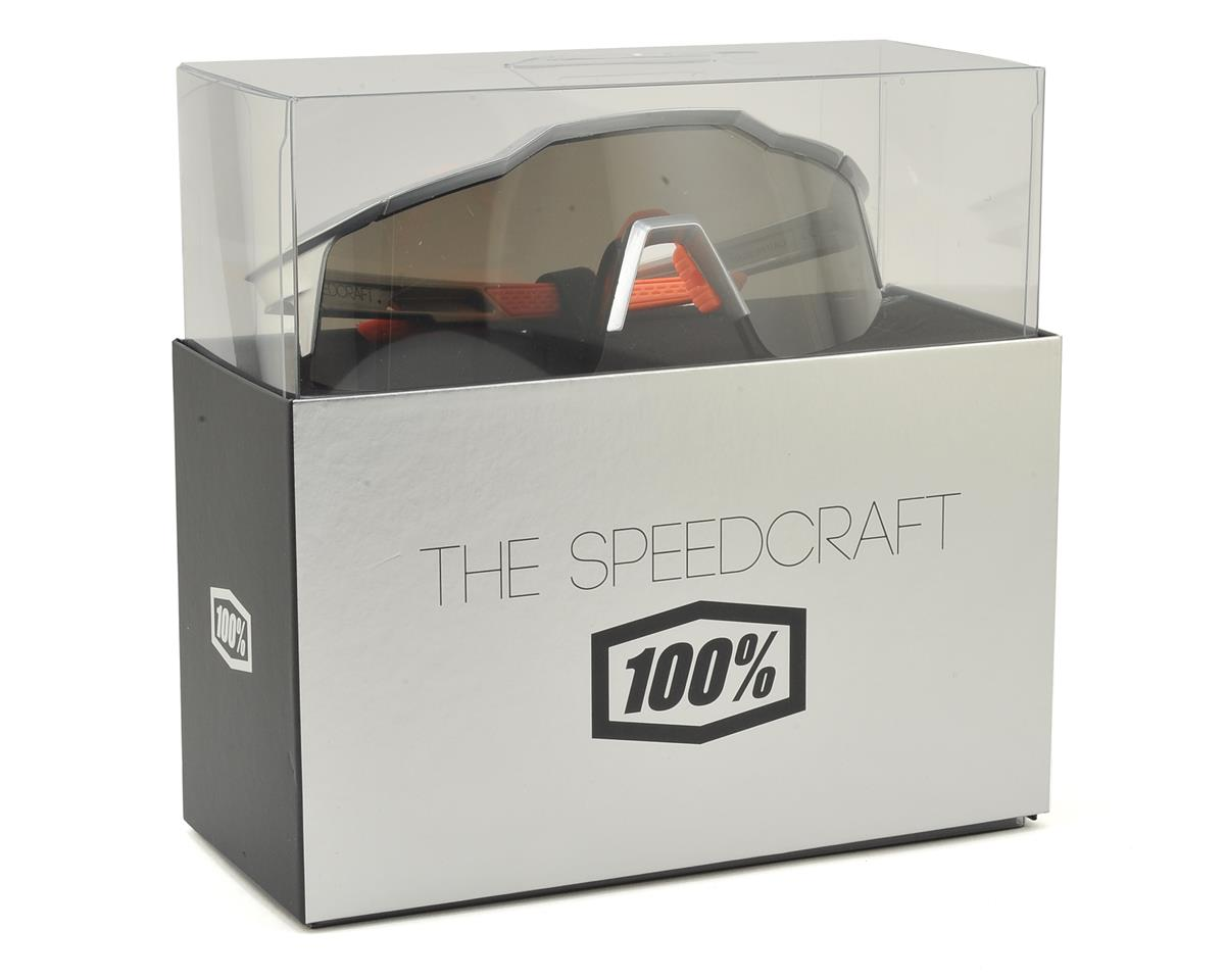 100% Speedcraft SL Sunglasses (Arc Light) (Short Smoke Lens)
