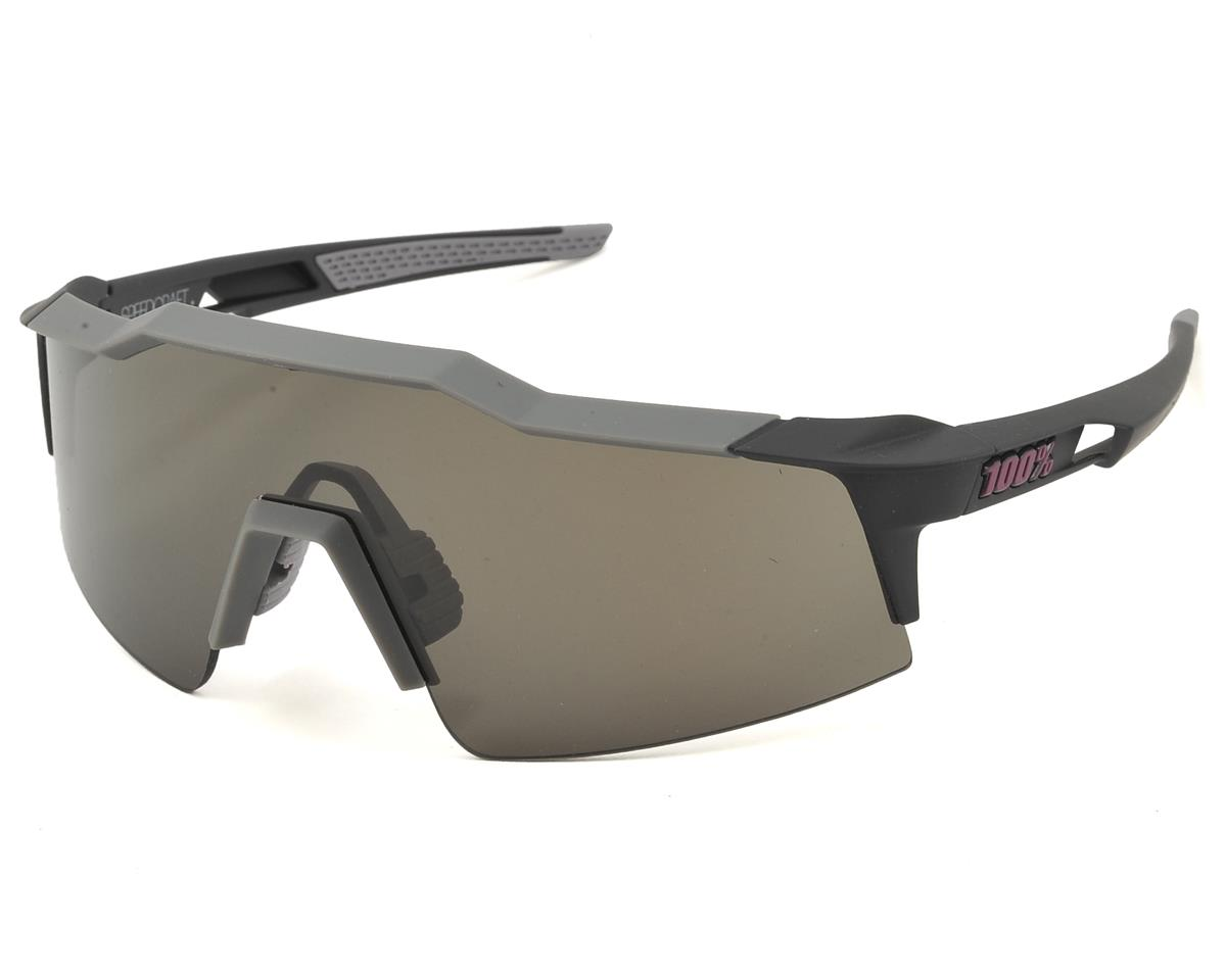 100% Speedcraft SL Sunglasses (Graphite) (Short Smoke Lens)