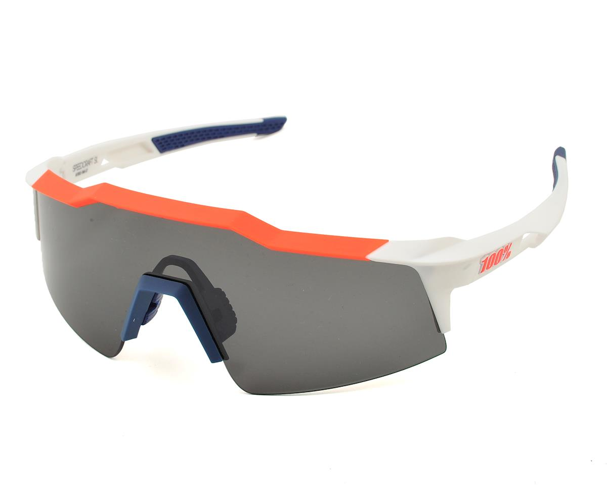 100% Speedcraft SL Sunglasses (Soft Tact Gamma Ray) (Smoke Lenses)