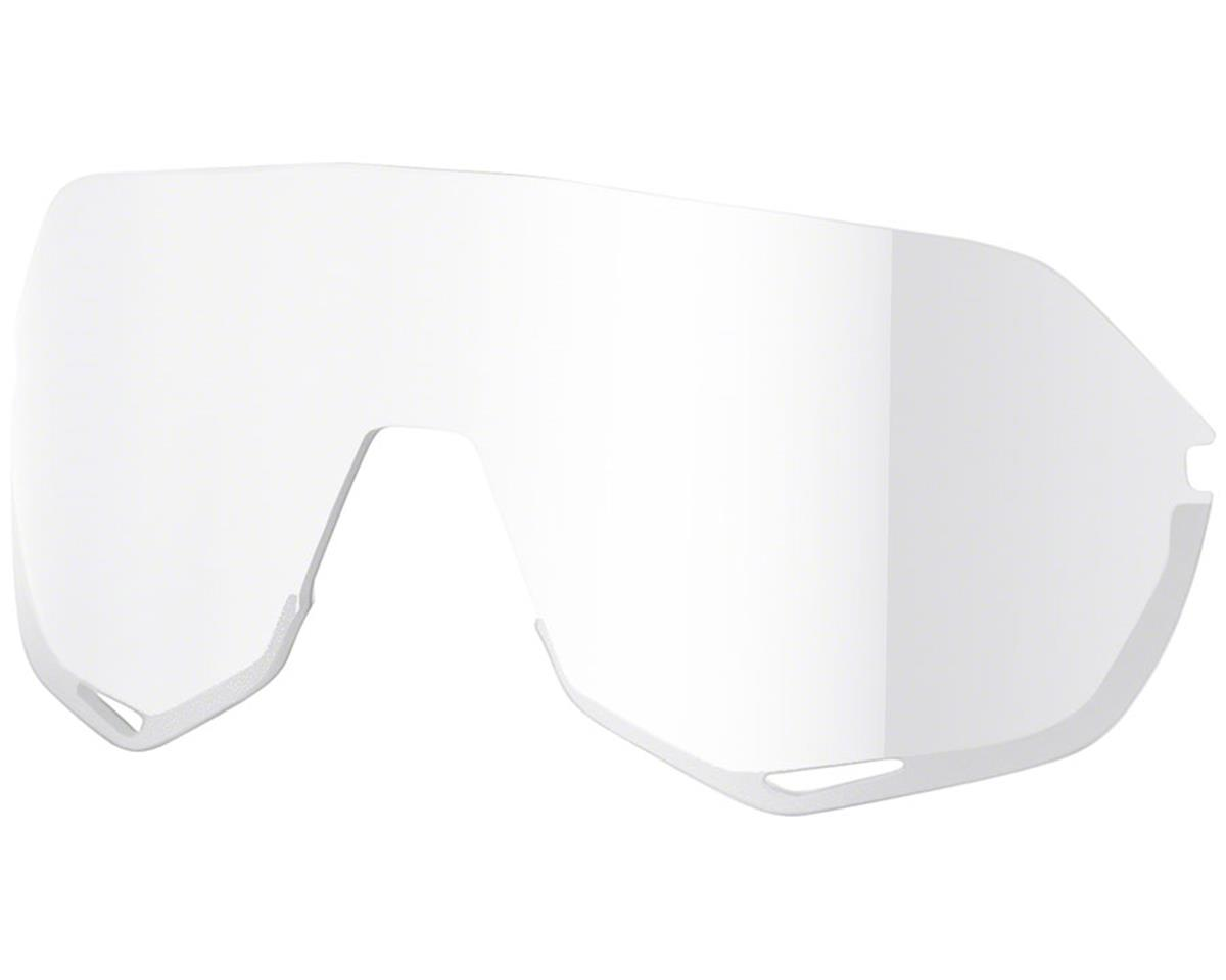100% S2 Sunglasses (Matte Off White) (HiPER Red Mirror Lens)