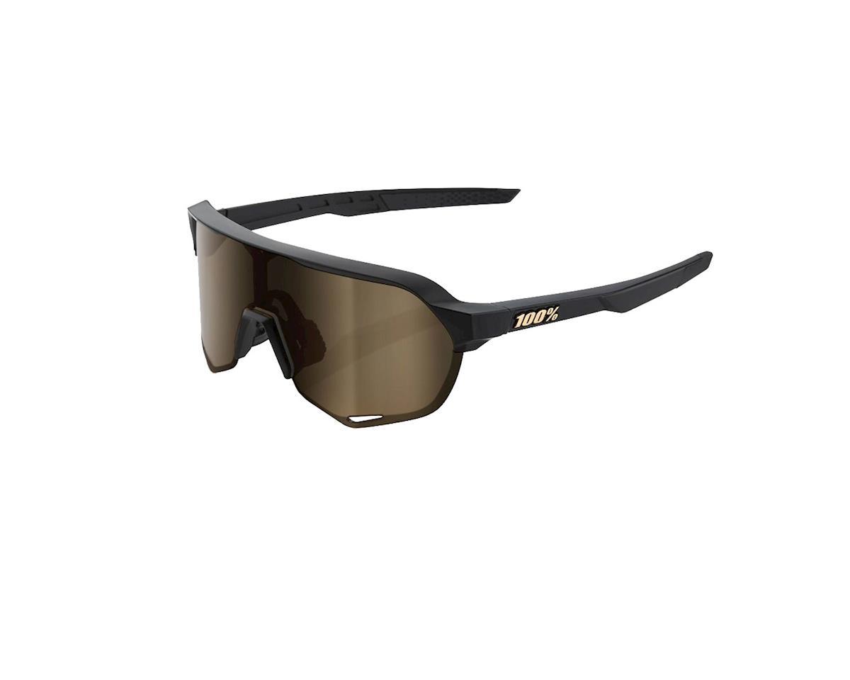 6e39df14c8a 100% S2 Sunglasses (Matte Black) (Flash Gold Lens)  61003-019-69 ...