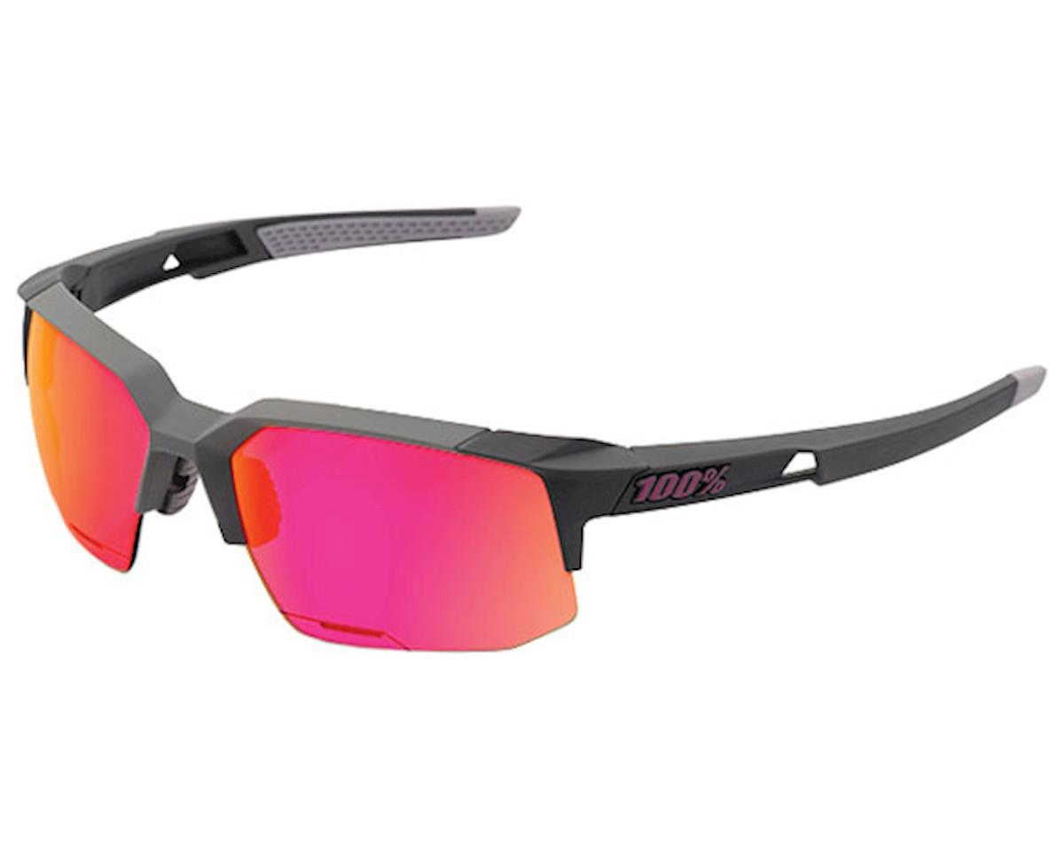 100% Speedcoupe Sunglasses (Graphite/Purple Multi Mirror)